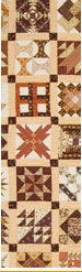 Pieced quilt by Sally Palmer Field