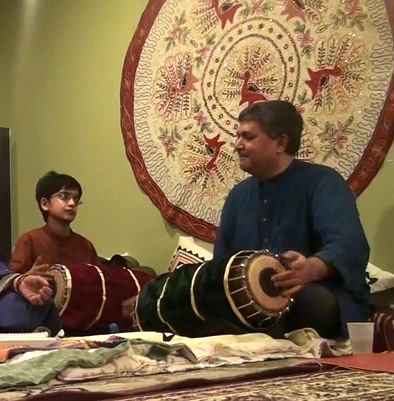 Gaurishankar Chandrashekhar, Apprenticeship in South Indian mridangam, 2014; South Grafton, Massachusetts;