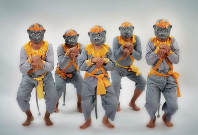 Monkey Dance, Cambodian dance, 2007; Angkor Dance Troupe, Inc.; Lowell, Massachusetts; Photography by James P. Higgins