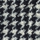 Repaired hounds tooth woolen from the front; Needle arts; 2016: Boston, Massachusetts; 4