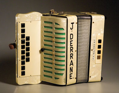 Walters Button Box, accordion; Musical instrument; c. 1957: