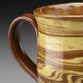 Agate mugs; Redware pottery; 2013: Shelburne Falls, Massachusetts; ceramics; 5