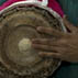 Tuning the mridangam; Apprenticeship - South Indian mridangam; 2010: Westwood, Massachusetts