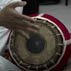 Pravin Sitaram playing mridangam; Apprenticeship - South Indian mridangam; 2010: Westwood, Massachusetts